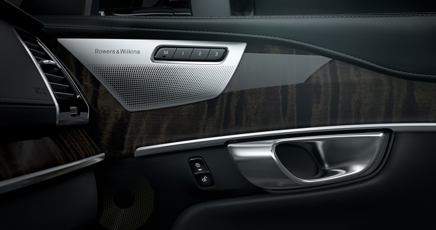 Volvo XC90 – Bowers & Wilkins sound system teased Image #252079