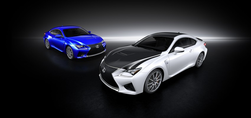 Lexus RC F to strut its stuff at Goodwood 2014 Image #255627