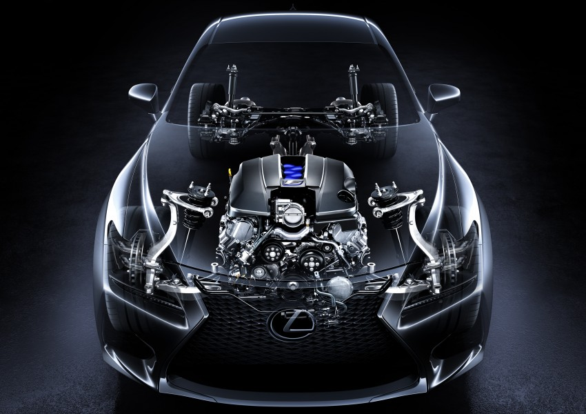 Lexus RC F to strut its stuff at Goodwood 2014 Image #255622