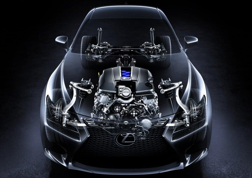 Lexus RC F to strut its stuff at Goodwood 2014 Image #255622