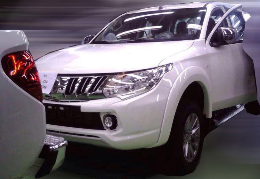 2014 Mitsubishi Triton – toned down Concept GR-HEV Image #253770