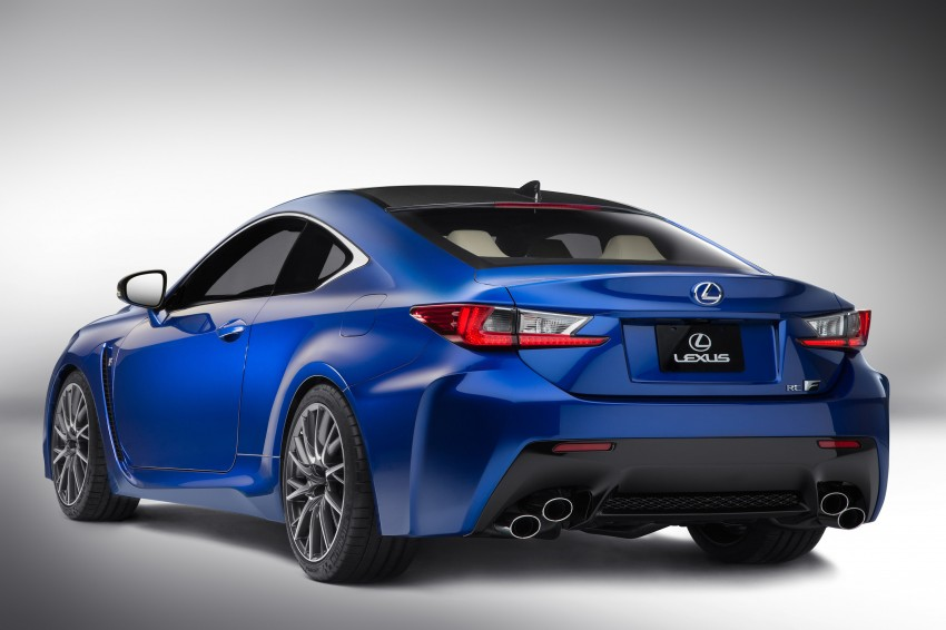 Lexus RC F to strut its stuff at Goodwood 2014 Image #255643