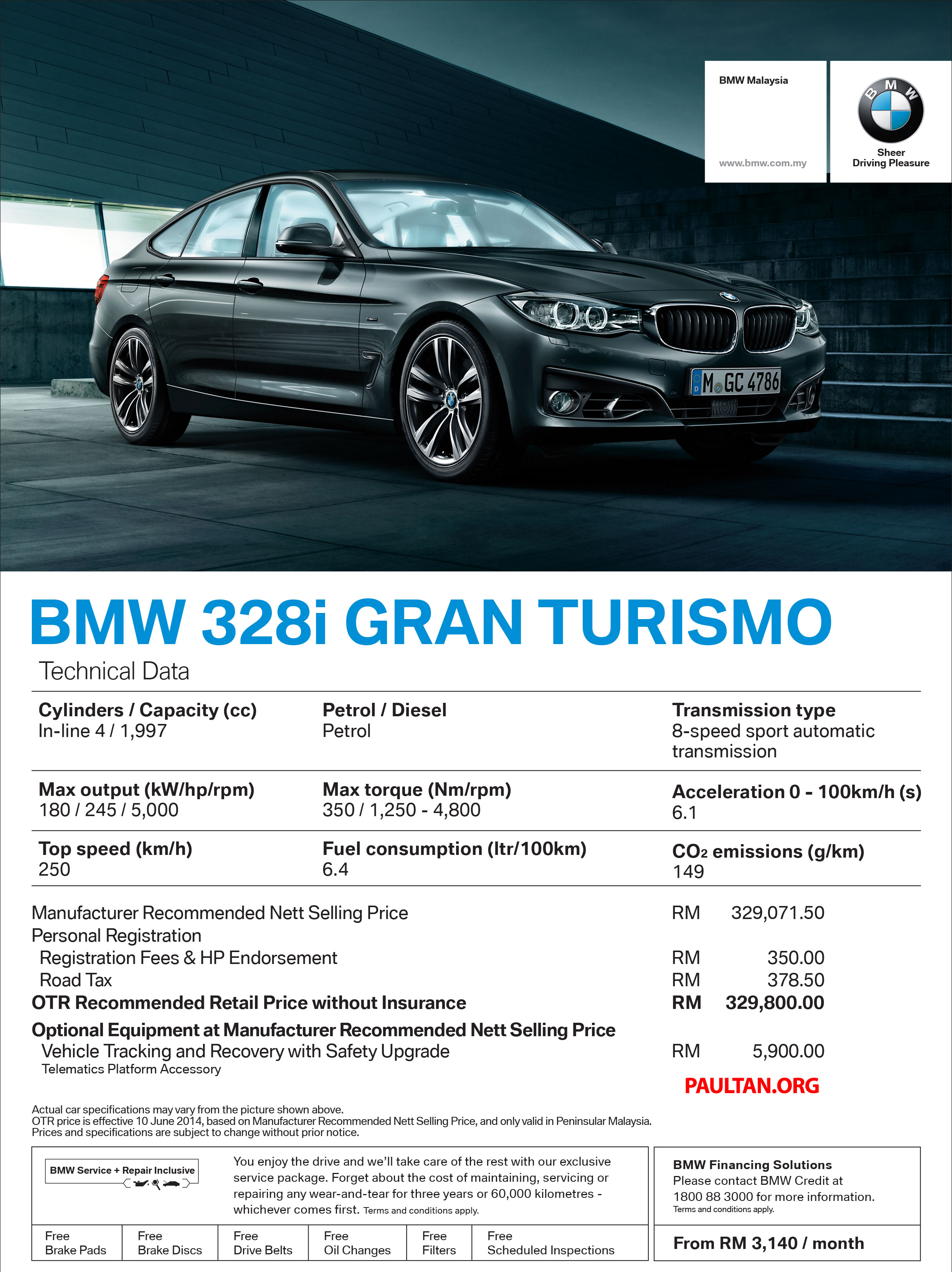 BMW Series Gran Turismo CKD Now Available I GT Sport RMk - Bmw 328i gt price