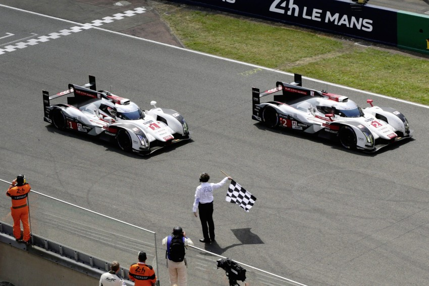 Le Mans 2014 – Audi 1-2 marks 13th win for Ingolstadt Image #254023
