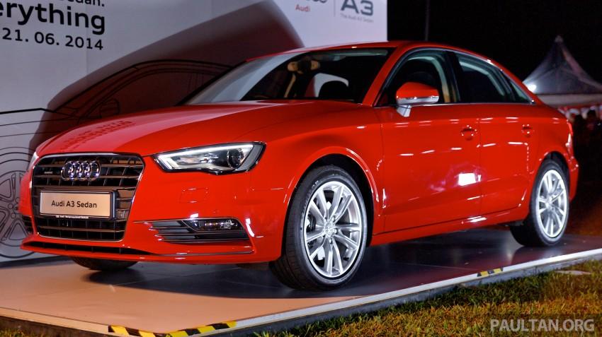 Audi A3 Sedan makes Malaysian debut in Bukit Kiara Image #255107