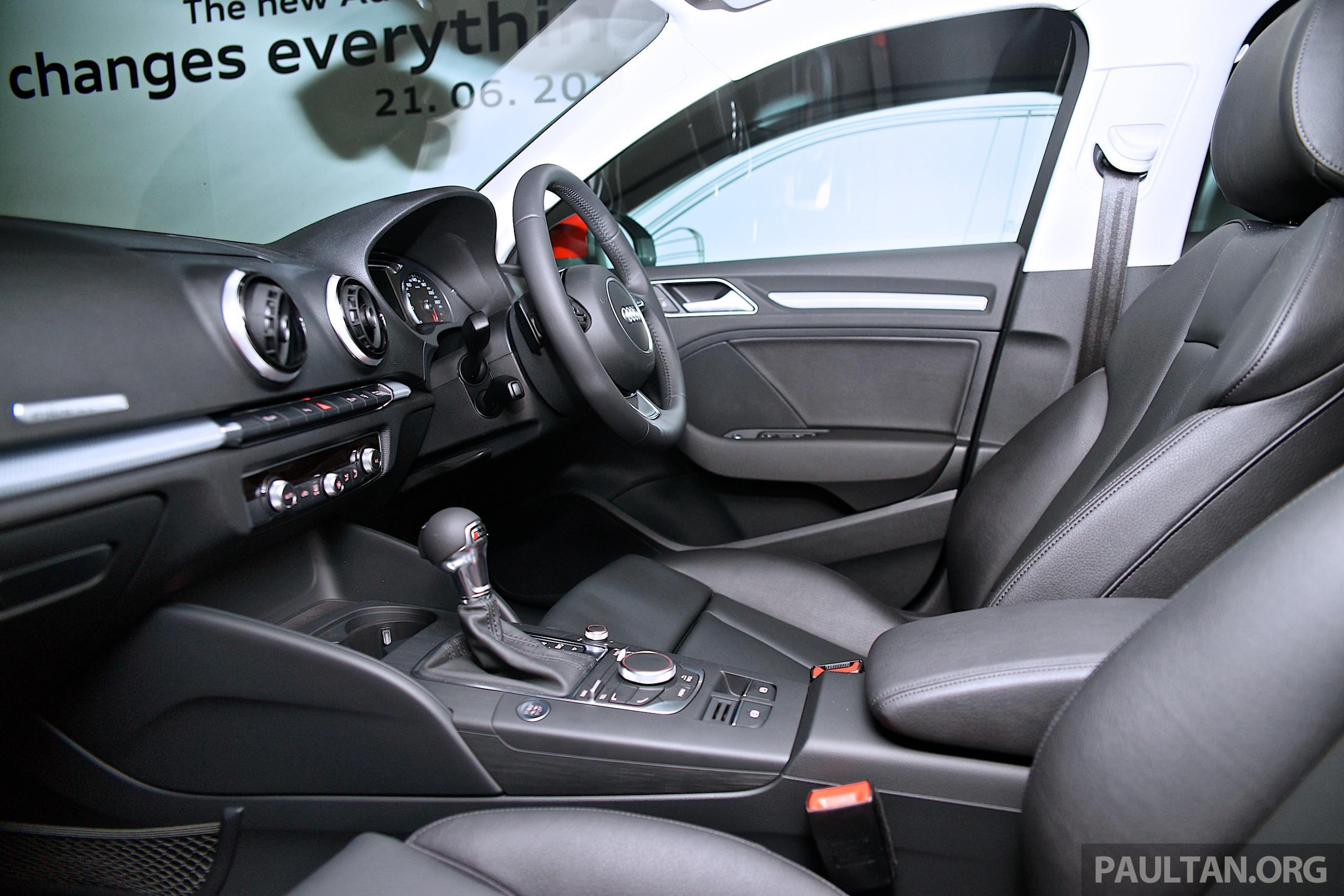 Audi A3 Sedan Makes Malaysian Debut In Bukit Kiara Paul