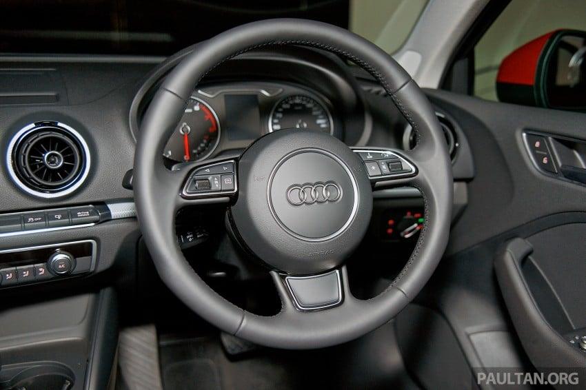 Audi A3 Sedan makes Malaysian debut in Bukit Kiara Image #255116