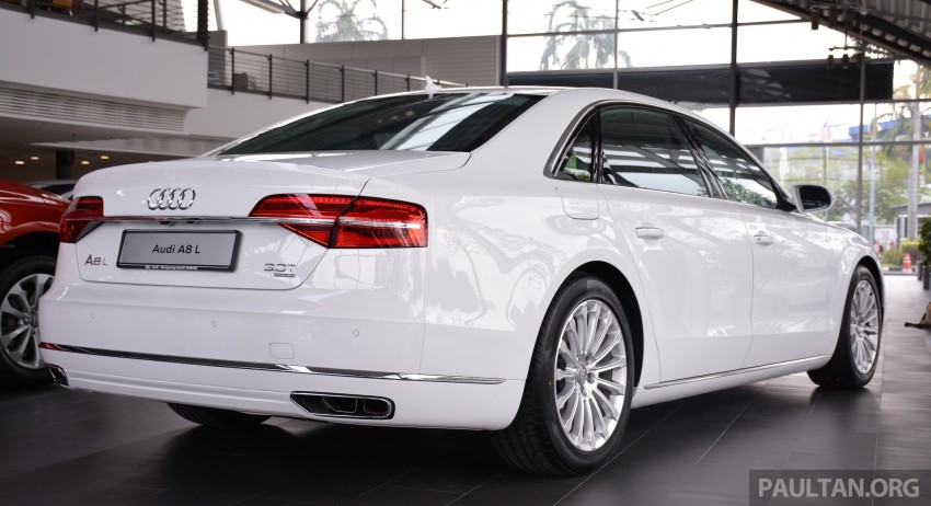 Audi A8 L 3.0 TFSI facelift now on sale at RM689,500 Image #251596
