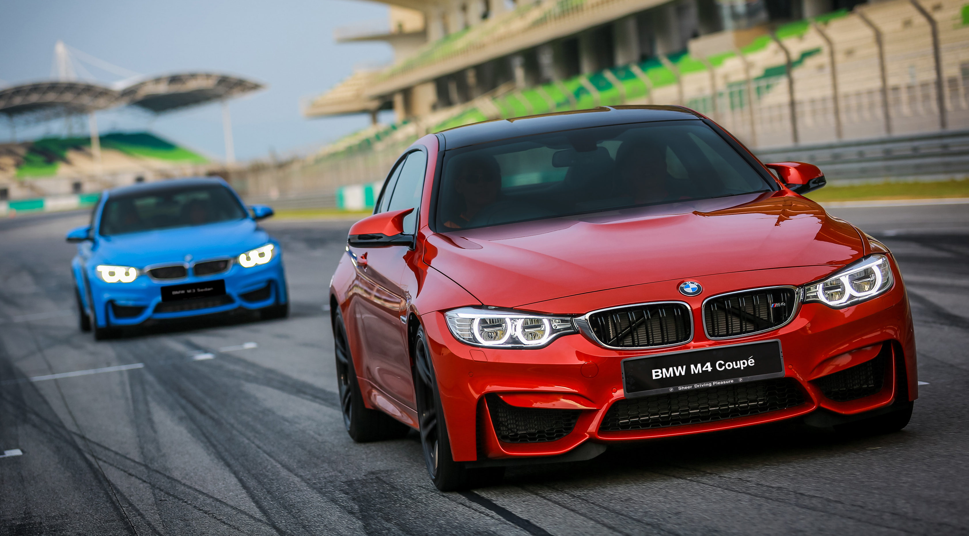 2014 F80 Bmw M3 Sedan And F82 Bmw M4 Coupe Introduced In