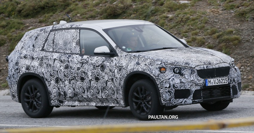 SPYSHOTS: BMW X1 – front wheel drive replacement Image #255858