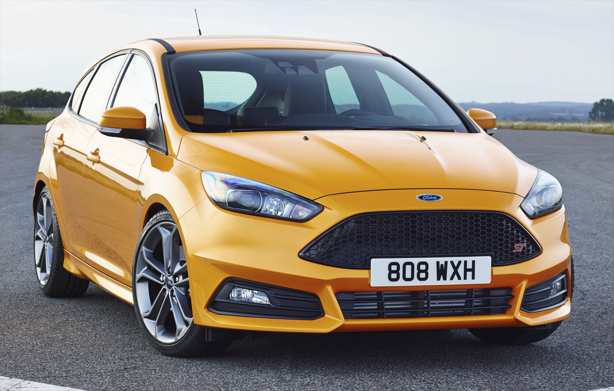 ford focus st diesel to get powershift dct option. Black Bedroom Furniture Sets. Home Design Ideas