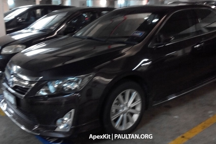 Toyota Camry Hybrid sighted at JPJ – UMW Toyota set for comeback to the tax-free hybrid game Image #252907