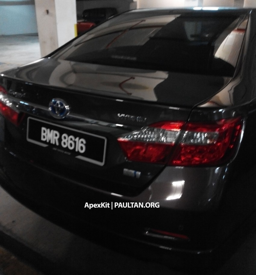 Toyota Camry Hybrid sighted at JPJ – UMW Toyota set for comeback to the tax-free hybrid game Image #252906