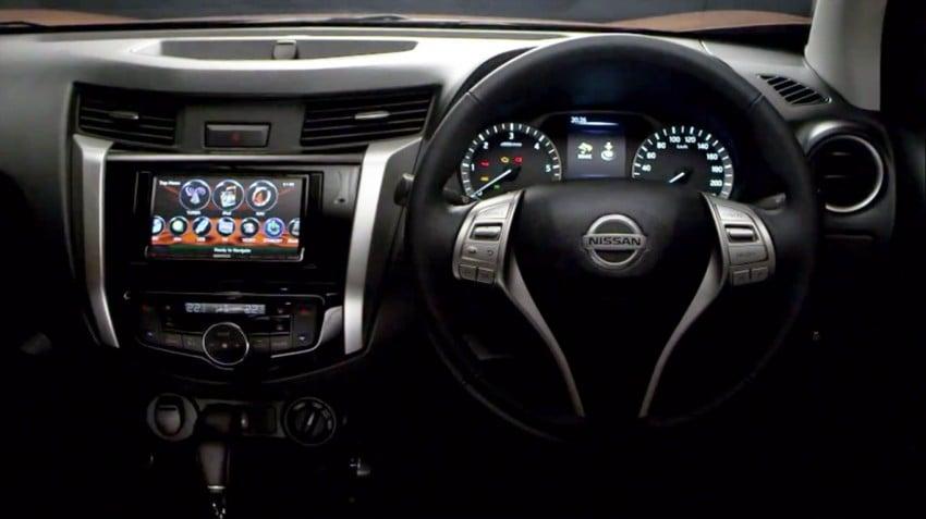Nissan Navara D23 – a first look at the interior Image #252517