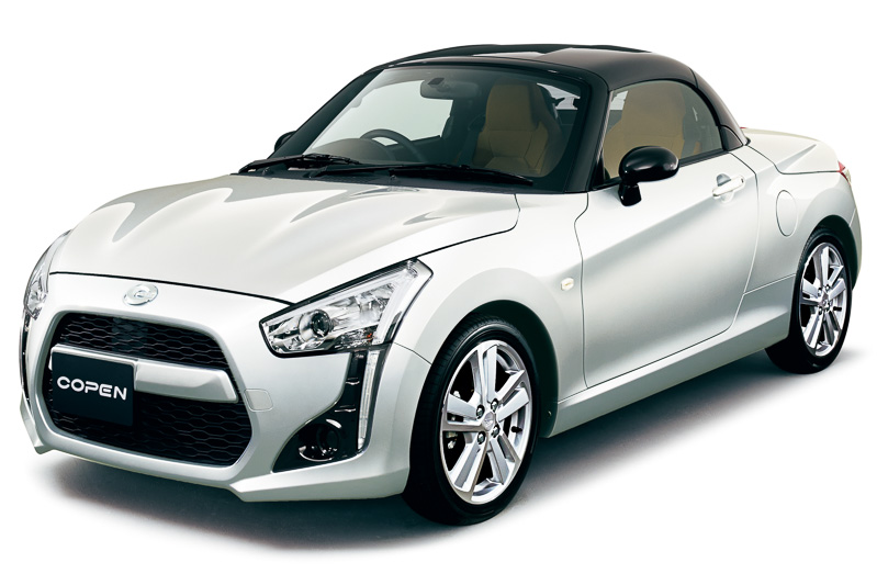 Daihatsu Copen is a customisable little kei roadster Image #254966