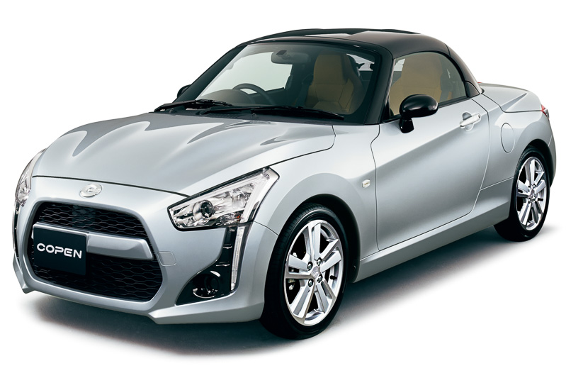 Daihatsu Copen is a customisable little kei roadster Image #254967