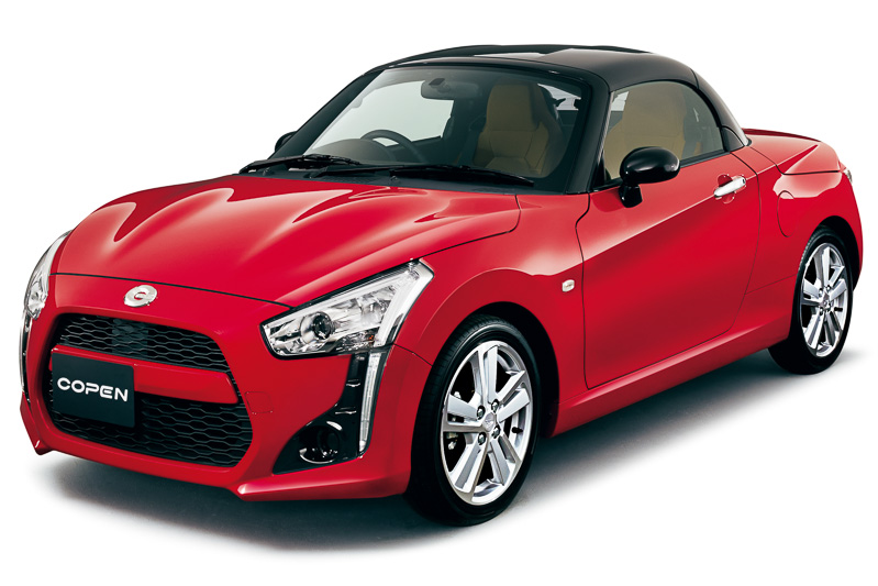 Daihatsu Copen is a customisable little kei roadster Image #254970