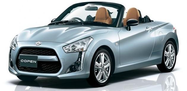 Daihatsu Copen Is A Customisable Little Kei Roadster