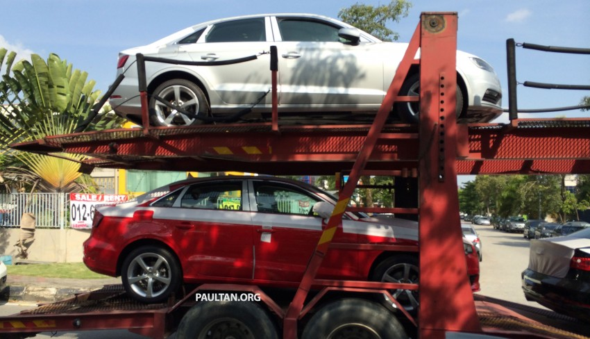 SPYSHOTS: Audi A3 Sedan 1.4T sighted in Glenmarie Image #255075