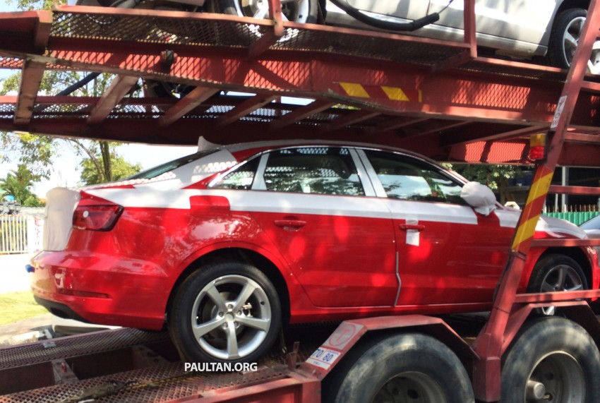 SPYSHOTS: Audi A3 Sedan 1.4T sighted in Glenmarie Image #255074