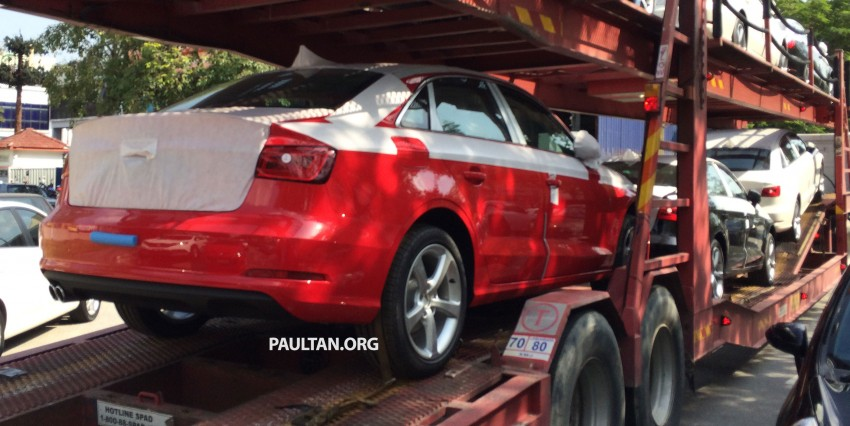 SPYSHOTS: Audi A3 Sedan 1.4T sighted in Glenmarie Image #255073