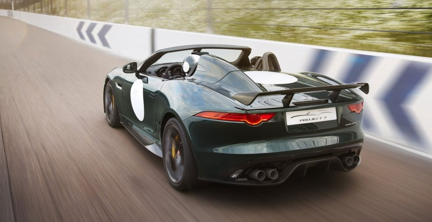 Jaguar F-Type Project 7 – fastest production Jag ever Image #255809