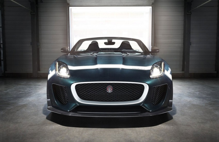 Jaguar F-Type Project 7 – fastest production Jag ever Image #255810