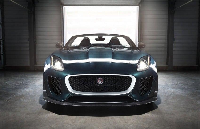 Jaguar F-Type Project 7 – fastest production Jag ever Image #255810