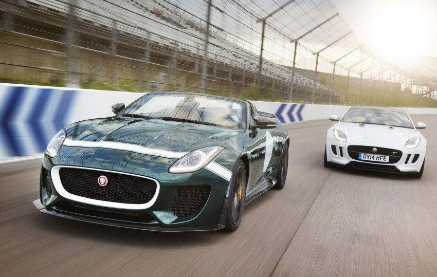 Jaguar F-Type Project 7 – fastest production Jag ever Image #255811