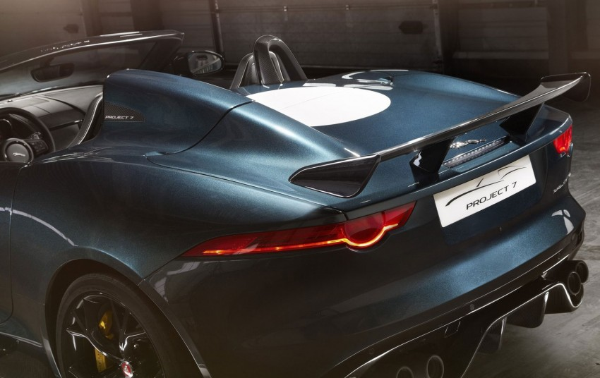 Jaguar F-Type Project 7 – fastest production Jag ever Image #255815
