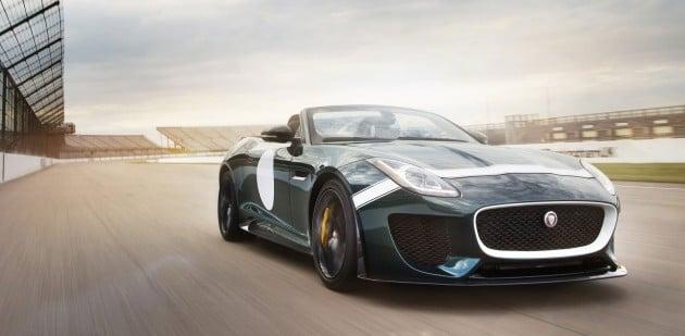 Jaguar F-Type Project 7-10