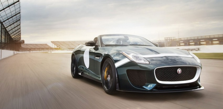 Jaguar F-Type Project 7 – fastest production Jag ever Image #255818