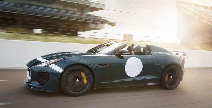 Jaguar F-Type Project 7 – fastest production Jag ever Image #255820