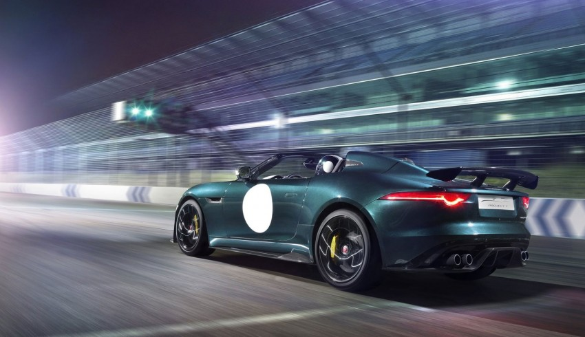Jaguar F-Type Project 7 – fastest production Jag ever Image #255821