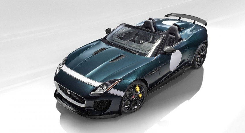 Jaguar F-Type Project 7 – fastest production Jag ever Image #255823