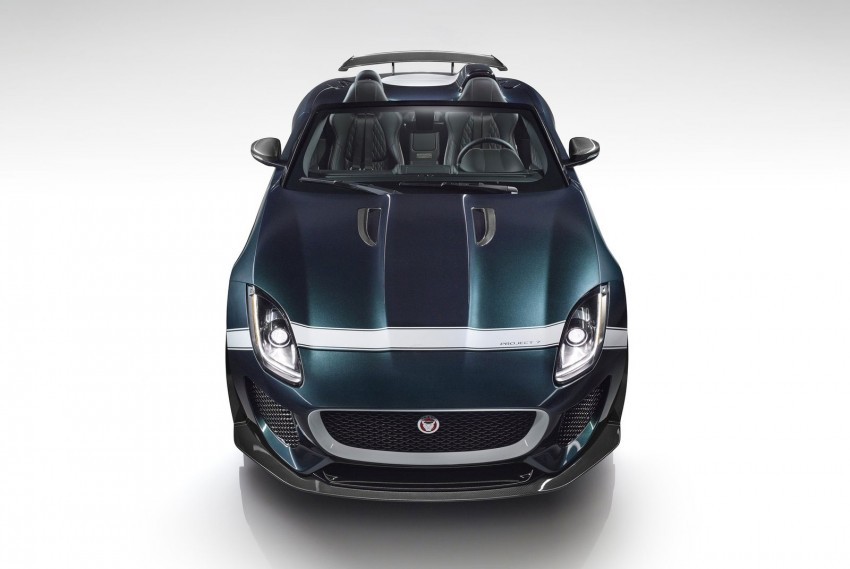 Jaguar F-Type Project 7 – fastest production Jag ever Image #255825