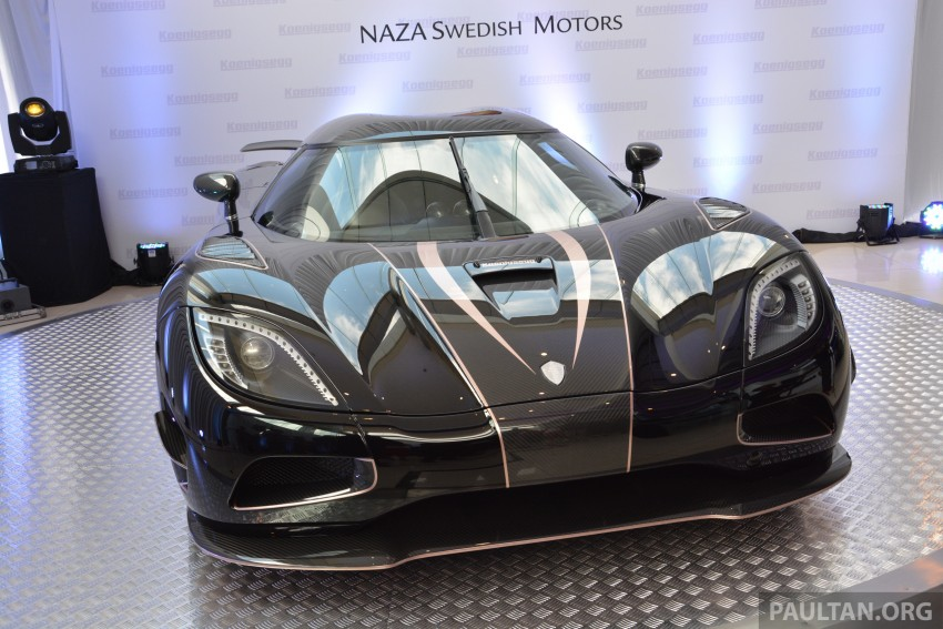 Koenigsegg Agera S marks brand's Malaysian debut – 1,030 hp / 1,100 Nm, priced at RM5 million before tax Image #252972