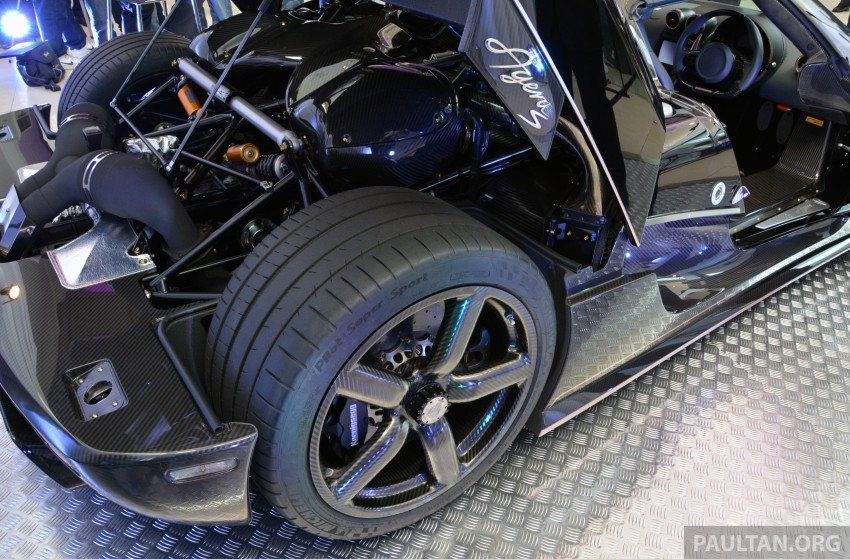 Koenigsegg Agera S marks brand's Malaysian debut – 1,030 hp / 1,100 Nm, priced at RM5 million before tax Image #252988