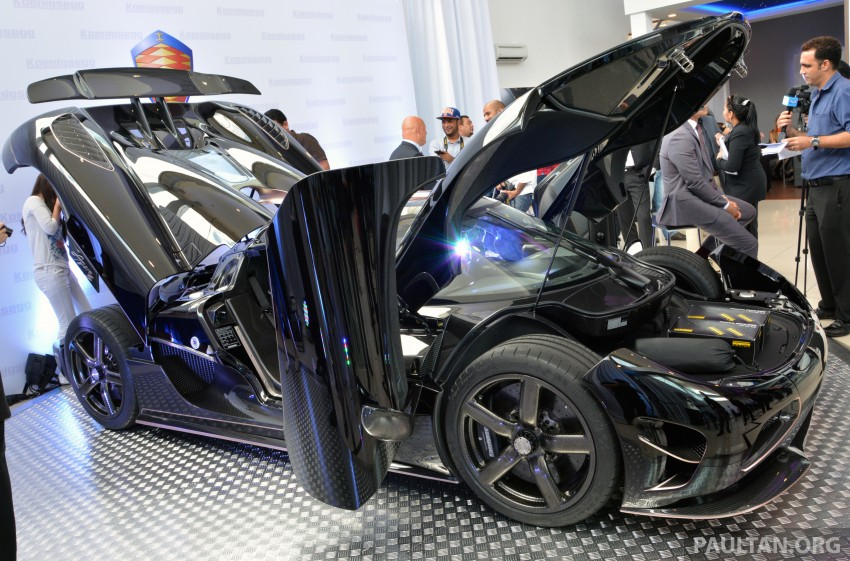 Koenigsegg Agera S marks brand's Malaysian debut – 1,030 hp / 1,100 Nm, priced at RM5 million before tax Image #252991