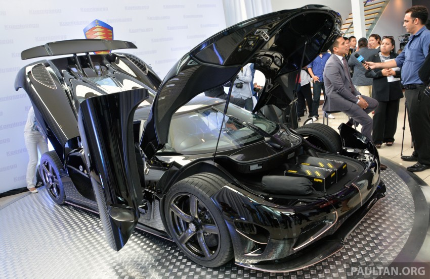 Koenigsegg Agera S marks brand's Malaysian debut – 1,030 hp / 1,100 Nm, priced at RM5 million before tax Image #252992