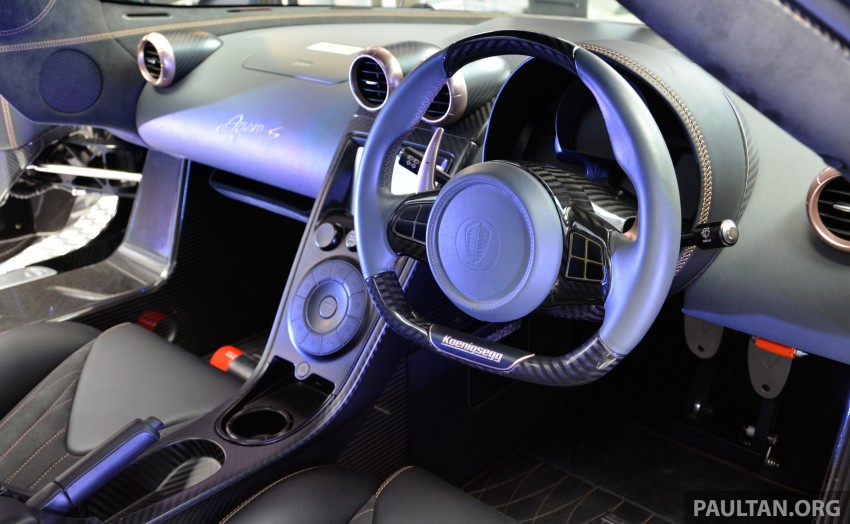 Koenigsegg Agera S marks brand's Malaysian debut – 1,030 hp / 1,100 Nm, priced at RM5 million before tax Image #252979