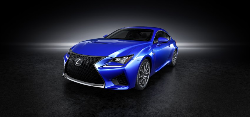 Lexus RC F to strut its stuff at Goodwood 2014 Image #255649