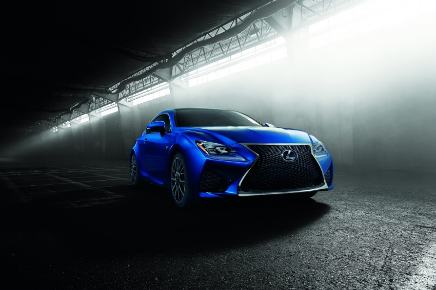 Lexus RC F to strut its stuff at Goodwood 2014 Image #255648