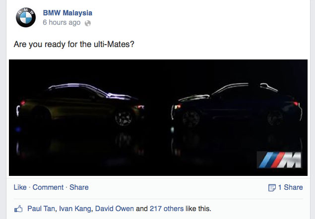 BMW Malaysia teases M3 and M4, duo launching soon Image #255834