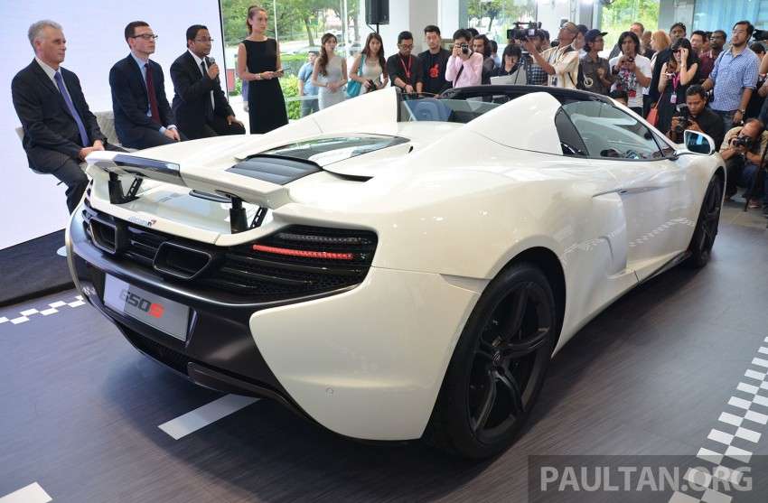 McLaren 650S launched in Malaysia, from RM2.4 mil Image #252755