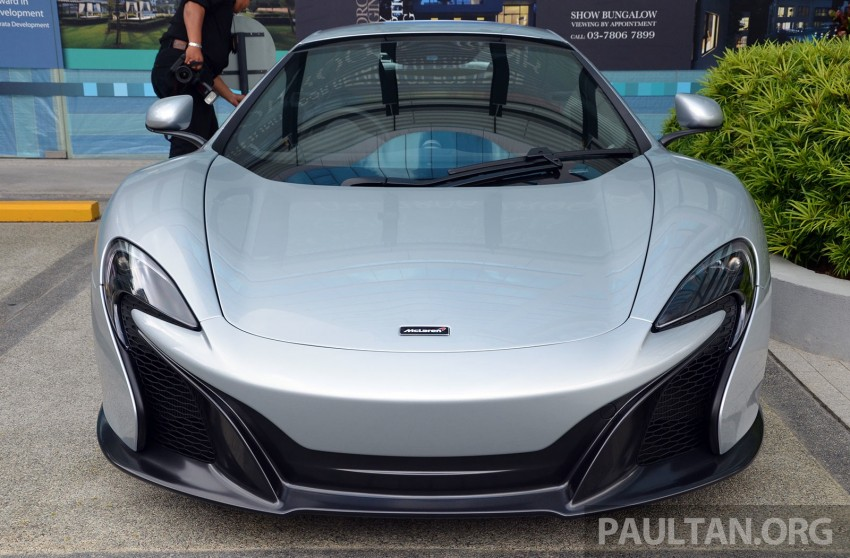 McLaren 650S launched in Malaysia, from RM2.4 mil Image #252758