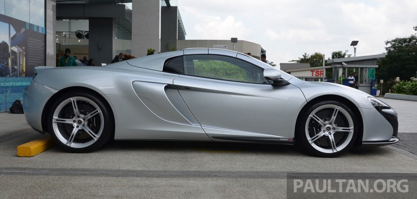 McLaren 650S launched in Malaysia, from RM2.4 mil Image #252760