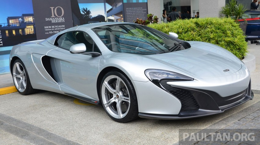 McLaren 650S launched in Malaysia, from RM2.4 mil Image #252761