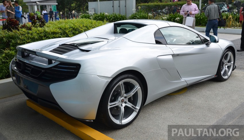 McLaren 650S launched in Malaysia, from RM2.4 mil Image #252762