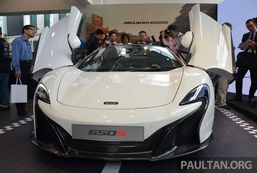 McLaren 650S launched in Malaysia, from RM2.4 mil Image #252763